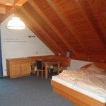"""Familienappartement """"Adlerhorst"""", hier Elternschlafzimmer"""