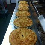 weeks supply of homemade steak pie