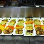 individual veg portions