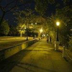 Amador causeway walkway