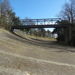 members Bank and Bridge - the most iconic part of the circuit (or what is left of it)