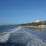 Glorious sunshine at Bournemouth in February