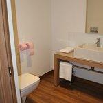 Des WC dans la salle de bains alors qu'annoncés séparés