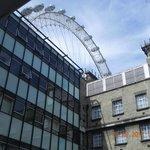 vista do Premier Inn para London Eye