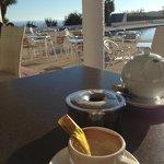 Terraza exterior, perfecta para tomar café.
