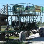 The swamp buggy we took.
