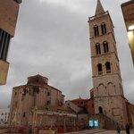 Campanile della cattedrale e basilica bizantina