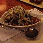 espinaca y quinoa