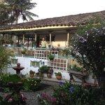 Patio at the Posada