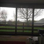 Wrekin view from living room