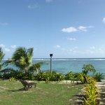Resort grounds overlooking the beach