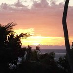 Sunset View from Villa