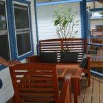 Porch of Kingfish Suite