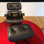 The famous Charles Eames Lounge Chair