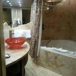 Nice spa and bathroom