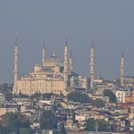 Blue Mosque from the Bosphorus