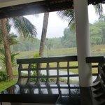 On terrace/veranda