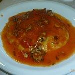 La polenta con in bomboletti