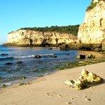 Senhora Da Rocha Beach