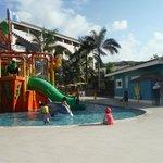 A fantastic kids area..our grandaughters favorite
