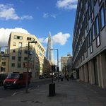 The Shard from outside CitizenM