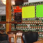 Bar/restaurant-they love their Jaegermeister!  These are all EMPTY bottles!