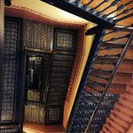 The hotel stairs- don't worry there are lifts!
