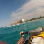 Rented Jet Skis 60USD/Half Hour looking at hotel