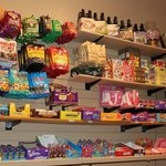 More shelves of candy!