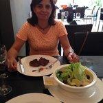 Bife de Lomo e Ceasar Salad