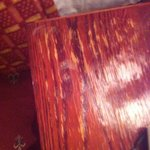 top of one of the bedside cabinets (not antique)