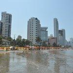 Playa en Bocagrande