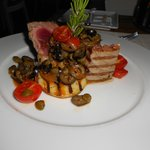 Ahi Tuna at the hotel beach restaurant
