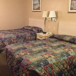 pic of 2 double beds. good nite rest