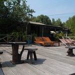 Open deck area