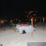Private Dinner on Beach