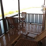 bungalow's terrace