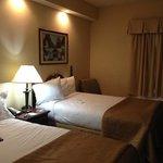 Comfy beds, nice room.