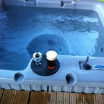 hot tub ready to go.