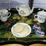 Tea tray in your room on arrival