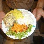 Filet de Dorado en Salsa cremosa de Hongos
