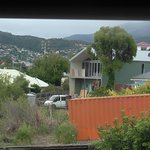 overlooking block next door