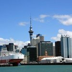 Central Auckland and Sky Tower