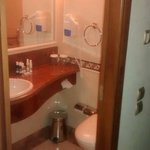 Extremely small bathroom