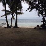 Beach front, hammock