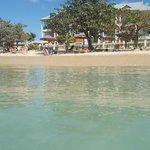 Hotel-Strandbereich am Reduit Beach
