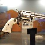 ivory handle pistol