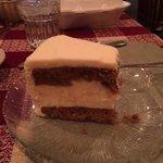 Yummy carrot cheesecake