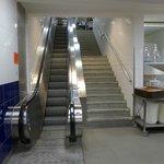 Die Jacobsleiter (Rolltreppe aus der Küche)