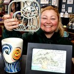 Trivets, tumblers and framed DeAmicis!